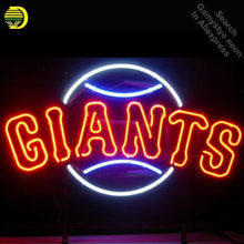 Neon Sign for Sports Teams SFG neon bulb Sign Giant Neon lights Sign Hotel Real glass Tube Iconic Bulbs lamp Custom Brand LOGO(China)