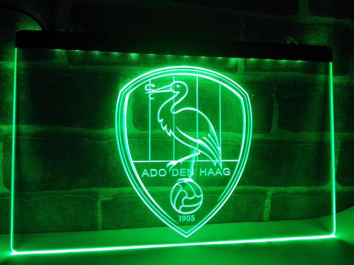 Zh002r Ado Den Haag Nederland Voetbal Led Neon Light Sign Aliexpress