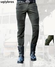 Casual Straight uglybros MOTORPOOL UBS12 Jeans Motorcycle Protector Pants Highway Riding Pants Men's Racing Pants