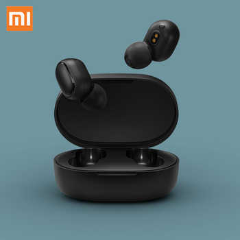 100% Original Xiaomi Redmi AirDots TWS Bluetooth Earphone Stereo MI AirDots Wireless Bluetooth 5.0 Headset With Mic Earbuds - SALE ITEM - Category 🛒 Consumer Electronics