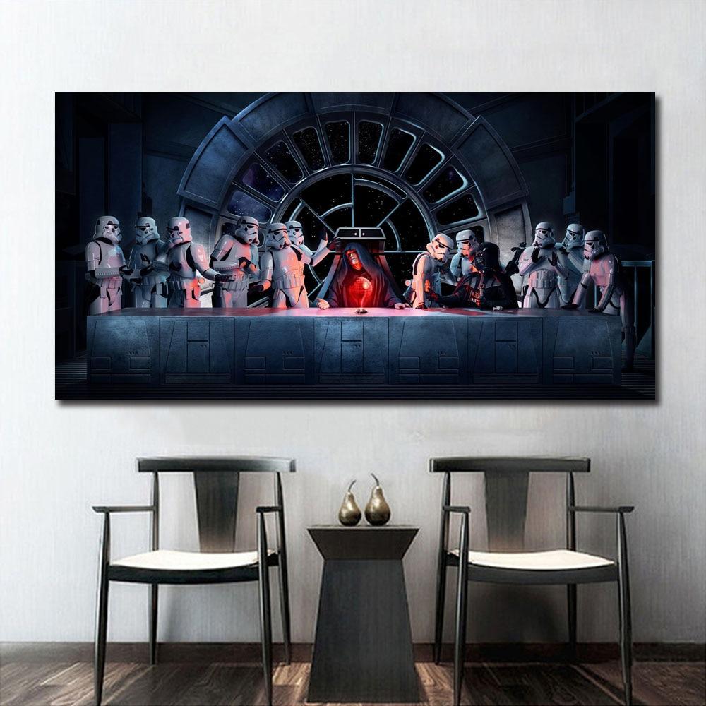 HD Print Oil Painting Decor Art On Canvas Star Wars Empire 24x36inch Unframed
