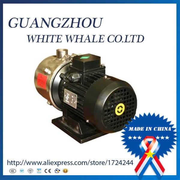 9.19 pompe à eau centrifuge horizontale à plusieurs étages d'acier inoxydable d'aquiculture CHL2-20 370 w 380 v 50 hz 33LPM 15 m