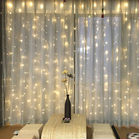 Chrismas 4.5M*3M 300LED LED String Lights Festival Decoration Christmas Flasher Fairy Lights Powered Home