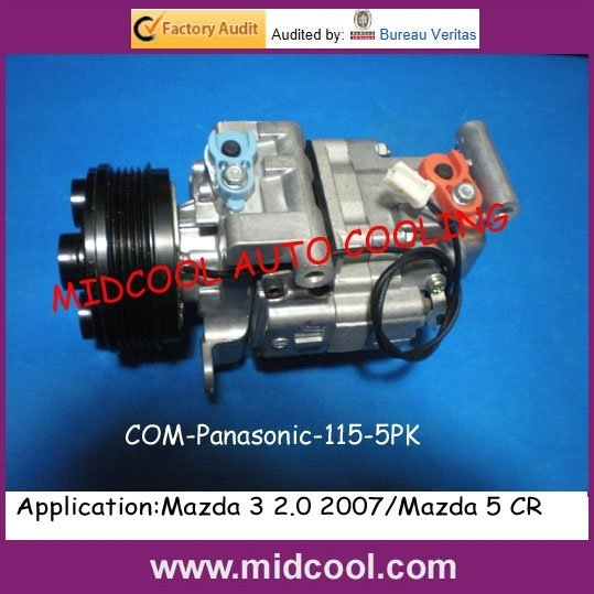 panasonic com-115-5pk Auto Ac Compressor For Mazda 3 2.0 2007/mazda 5 Cr Can Be Repeatedly Remolded. Back To Search Resultsautomobiles & Motorcycles