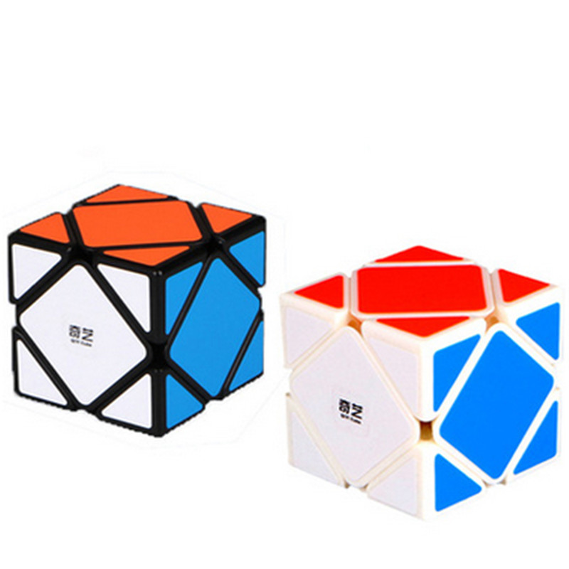 Speed Magic Speed Cube 2 On 2 Speed Skew Cube Magic Block Brain Teaser Educational Learning Gift Toys For Children yj brain teaser 2 x 2 x 2 magic iq cube multicolored