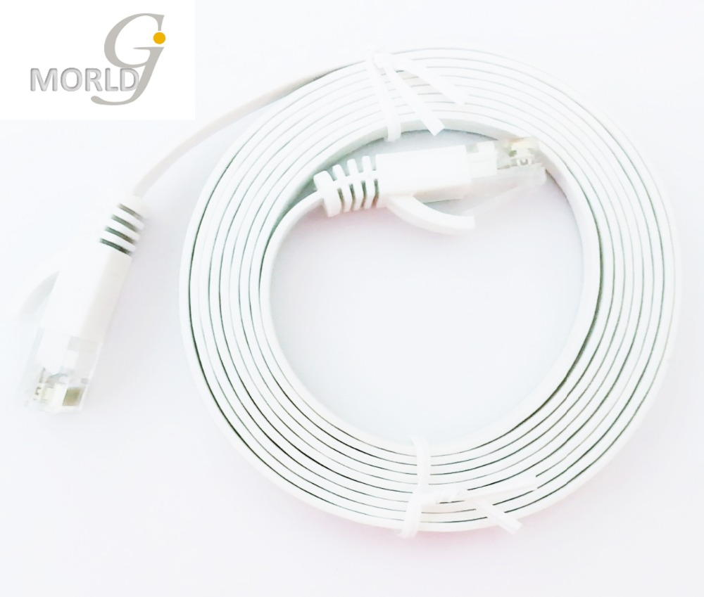 cheap cat6 flat network cable white rj45 150cm ethernet cable unshielded twisted pair 1 5m lan cable made in china [ 1000 x 849 Pixel ]