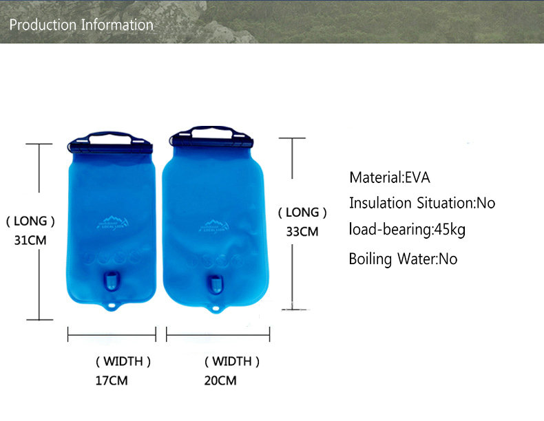 OUTDOOR LOCAL LION 1L-2L EVA Water Bag Hydration Bicycle Camping Hiking Climbing Outdoor Sport Water Bag (9)