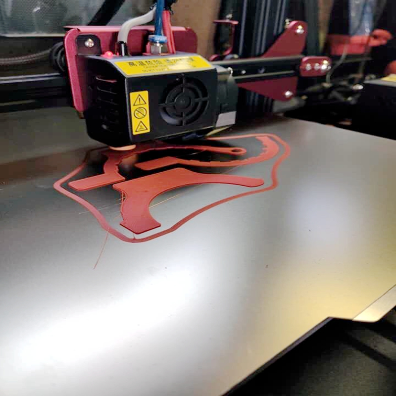 Image 4 - ENERGETIC New 320x310mm 3D Printer Platform Heated Bed Build Surface Spring Steel with PEI Plate for CR 10S pro,CR X Hot Bed-in 3D Printer Parts & Accessories from Computer & Office