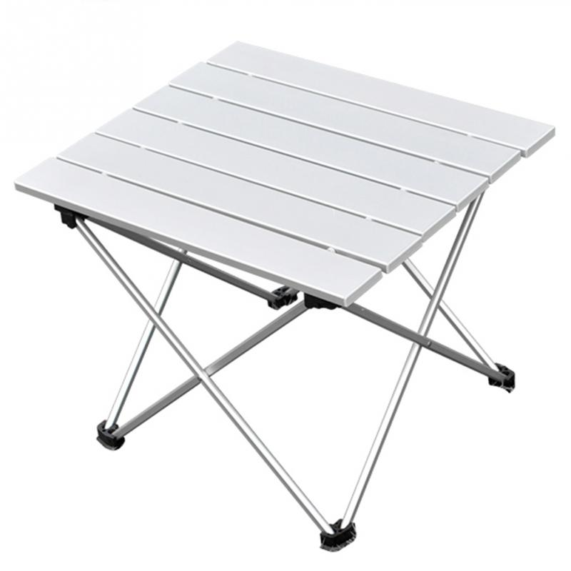 56 *X40.5 X 40CM Outdoor Aluminum Folding Table Portable Roll Up Table  Folding Camping Outdoor Indoor Picnic Bag Table In Outdoor Tables From  Furniture On ...