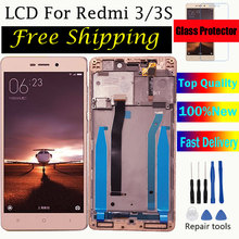 For Xiaomi Redmi 3 Lcd Display Screen 5.0 Inch AAA Quality LCD  3S Digiziter Aseembly