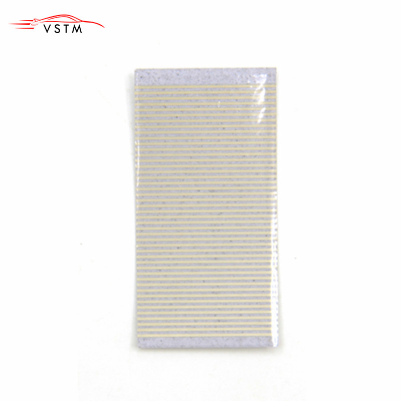 1pcs Silver Flat Cables For BMW E34 Pixel 5 Series Ribbon Cable Speedometer Instrument Repair Dead Pixels