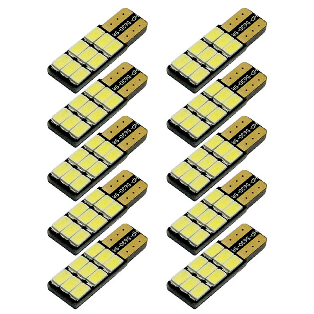 kongyide Healight Bulbs 10x LED T10 5630 9SMD Car Led Width Light / NOV9
