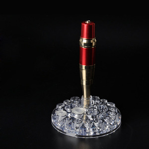 Image 5 - 4 Types Acrylic Tattoo Ink Cup Stand Holder Permanent Makeup  Microblading Pigment Storage Caps Tattoo Gun Rack Container Supply