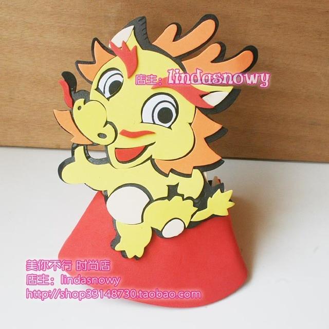 Kindergarten toy animal style hair accessory animal hat child hat zodiac hair accessory