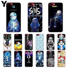 Yinuoda undertale 파피루스 sans doggo 소프트 실리콘 tpu 전화 커버 apple iphone 8 7 6 6 s plus x xs max 5 5 s se xr 커버(China)