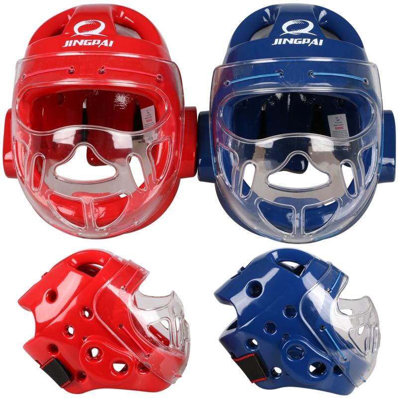 Top Brand MMA Karate Muay Thai Kick Training Helmet Boxing Head Guard Protector Headgear Sanda Taekwondo Protection Gear  цены