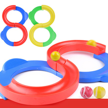 цена на 88 Race Track Ball Toys Building Blocks Slide Hand-eye Coordination Training Teaching Equipment Toy Gift for Children