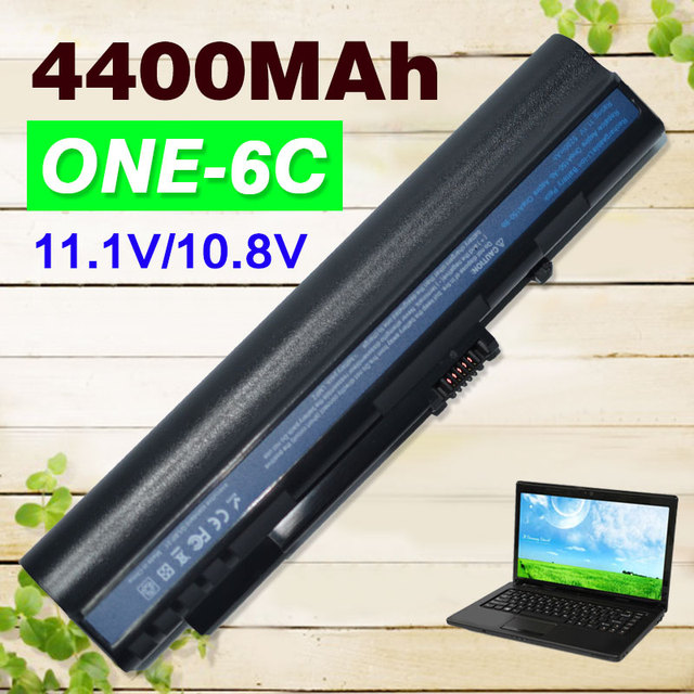 BLACK 4400mAh battery For Acer Aspire One A110 A150 D210 D150 D250 ZG5 UM08A31 UM08A32 UM08A51 UM08A52 UM08A71 UM08A72 UM08A73
