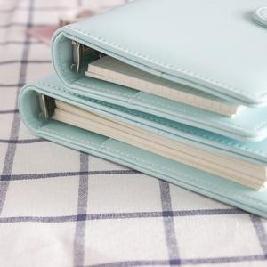 Ежедневник JIANWU макаронс из искусственной кожи, А5 А6, ежедневник, ежедневник, планировщик, переплет с листом, милые школьные принадлежности
