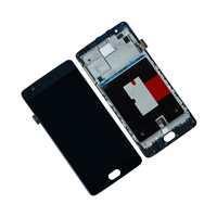Touch Screen Digitizer LCD Display For OnePlus 3T A3010 A3000 A3003 Frame Assembly Mobile Phone Lcd
