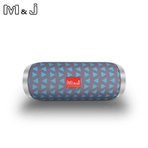 Bluetooth-Колонка M & J TG117, уличная мини-звуковая панель, водонепроницаемая Портативная Беспроводная колонка, громкоговоритель с TF, FM, USB, Aux для ...