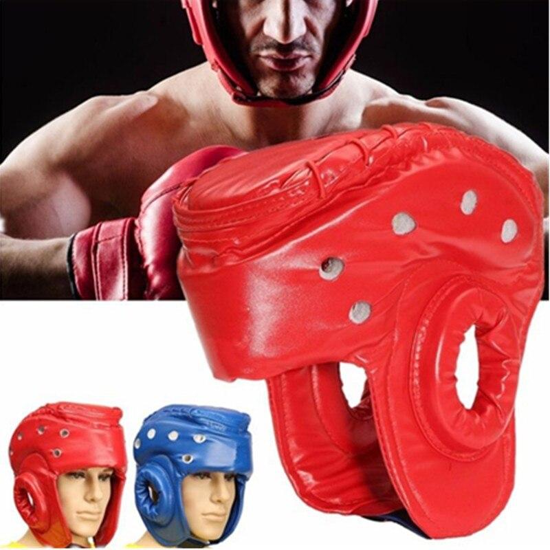 Kid Boxing Helmet Adult Kickboxing MMA Muay Thai Sanda Protective Gear Guard