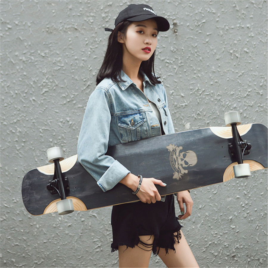 Professional Drop Downhill Longboard Skateboard Adult All-around Board Freestyle/Park/Freeride/Speed Run/Dancing LongBoard Deck