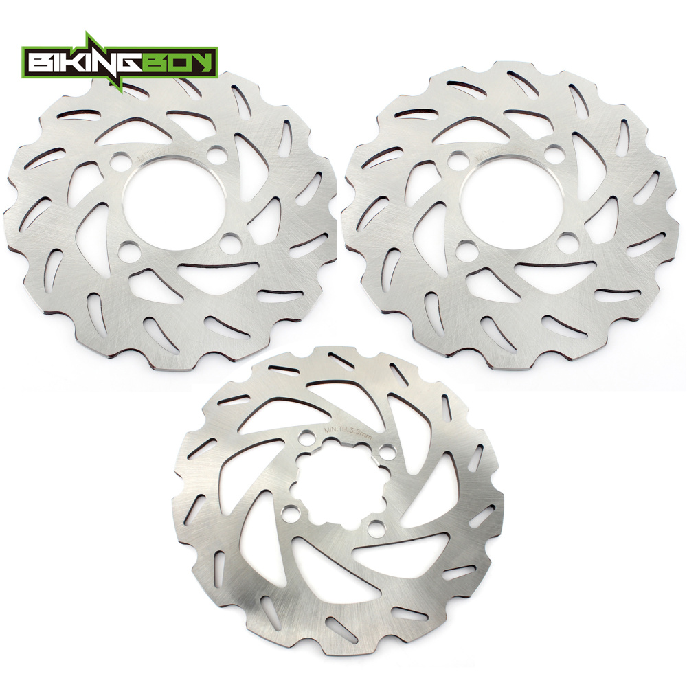 BIKINGBOY Front Rear ATV Quad Bike Brake Discs Rotors for Yamaha YZF 450 YFZ 450 YFZ450R