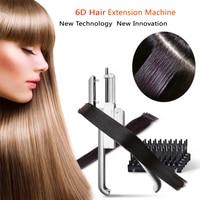 Новые инновации Invisable 6d волос машина Парикмахерская разъем парик волос профессиональный инструмент и безопасной время