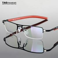 2019 TAG Hezekiah eyeglass frames for men lightweight half frame myopia frames and women Elasticized leg frame goggles computer