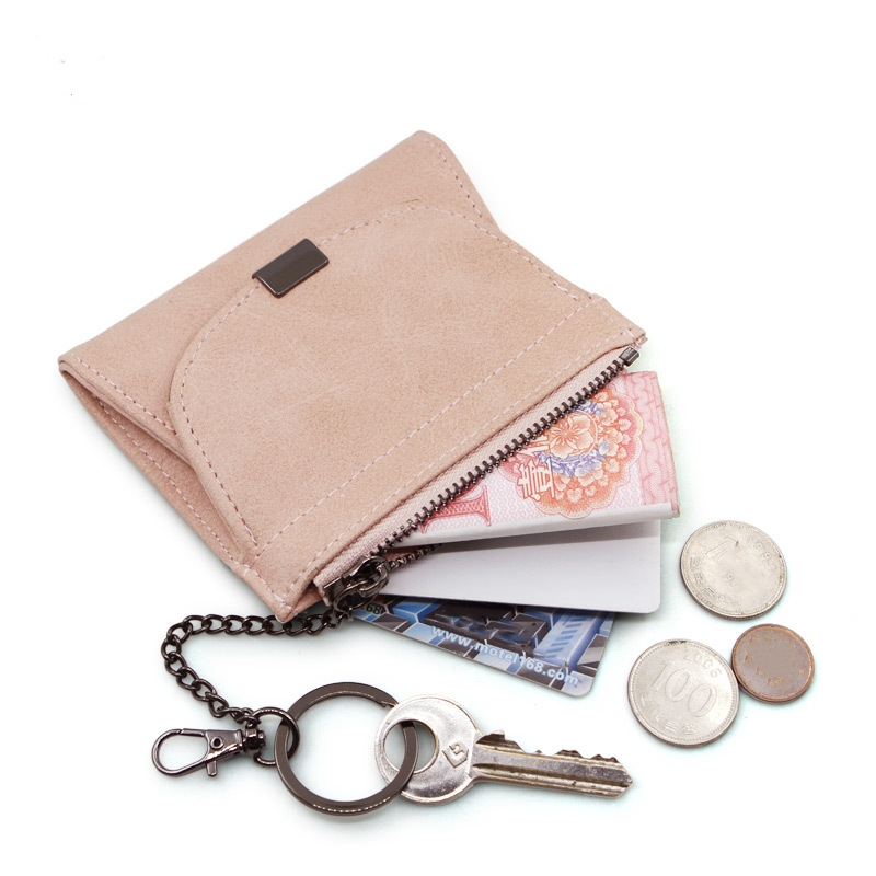 eTya Pu Leather Coin Purse Women Small Money Bags Female  Kids Change Purses Pocket Zipper Mini Key Chain Card Holder Bag Pouch