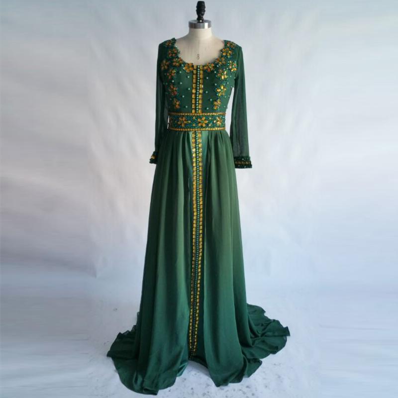 Detail Feedback Questions about Moroccan Kaftan Evening Dress 2018 ... 6c1c8824cc70