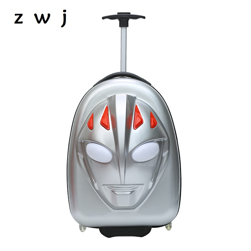 Cheap Cartoon Ultraman Trolley Suitcase PC Luggage Children Carry Ons Travel Trolley Backpack Rolling Luggage setsCheap Cartoon Ultraman Trolley Suitcase PC Luggage Children Carry Ons Travel Trolley Backpack Rolling Luggage sets