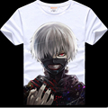 2017 Summer anime printed Tokyo Ghoul T shirt hot fancy Tokyo Ghoul T-shirt for women and men tokyo ghoul ken tshirt