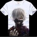 2017 Verão anime impresso Tokyo Ghoul camiseta hot fantasia T-shirt para homens e mulheres tokyo ghoul Tokyo Ghoul ken tshirt