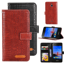 GUCOON Crocodile Wallet for InFocus Turbo 5 Epic 1 M2 4G M51