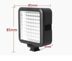 Image 3 - Godox LED64 wideo Panel LED lampa makrofotografii dla Canon Nikon kamery