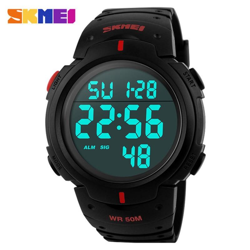 Angemessen Militär Sport Uhren Männer Alarm 50 Mt Wasserdicht Armee Uhr Led Zurück Licht Shock Digitale Armbanduhren Uhren Hombre 2018 Skmei