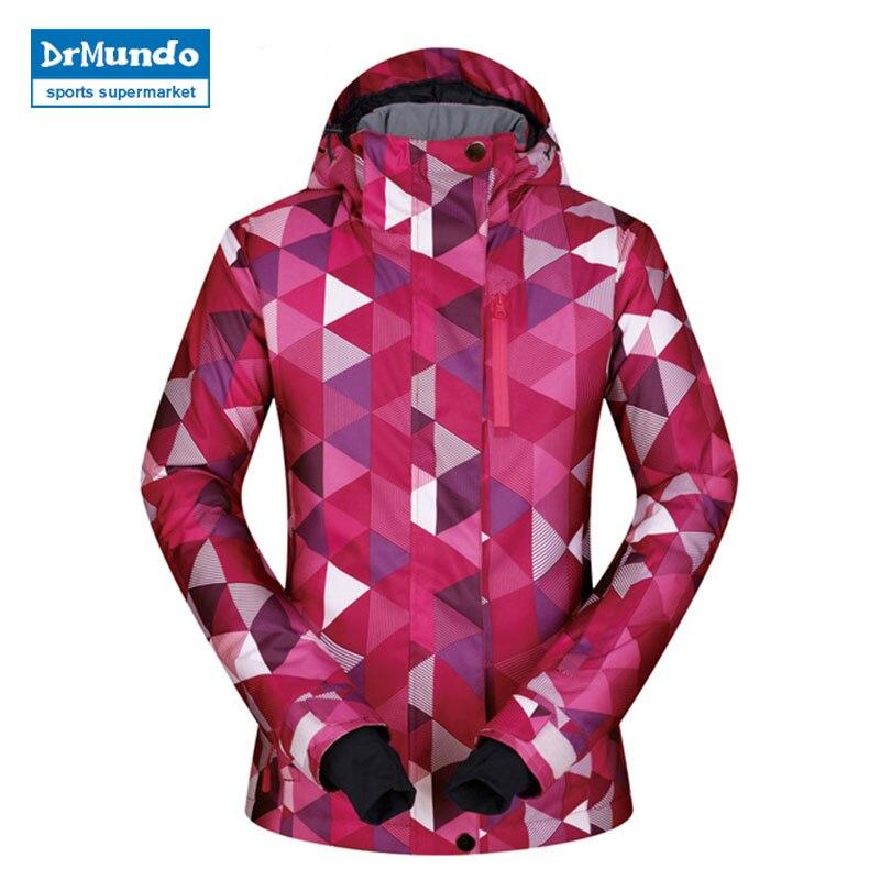 Acket femmes Ski nouvelles vestes de Ski en plein air femme manteau coupe-vent imperméable respirant thermique neige hiver Snowboard veste marques
