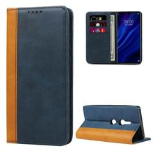For Sony Xperia X Performance Color Matching Premium Leather Strong Magnetic Wallet Case for Sony Xperia XZS XZ2 XZ3 XZ4 coques купить недорого в Москве