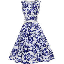 Women Blue And White Porcelain Sexy Dress Vestidos Mujer White Party Long Dresses Women Summer Dress 2017 Bodycon Office Dress