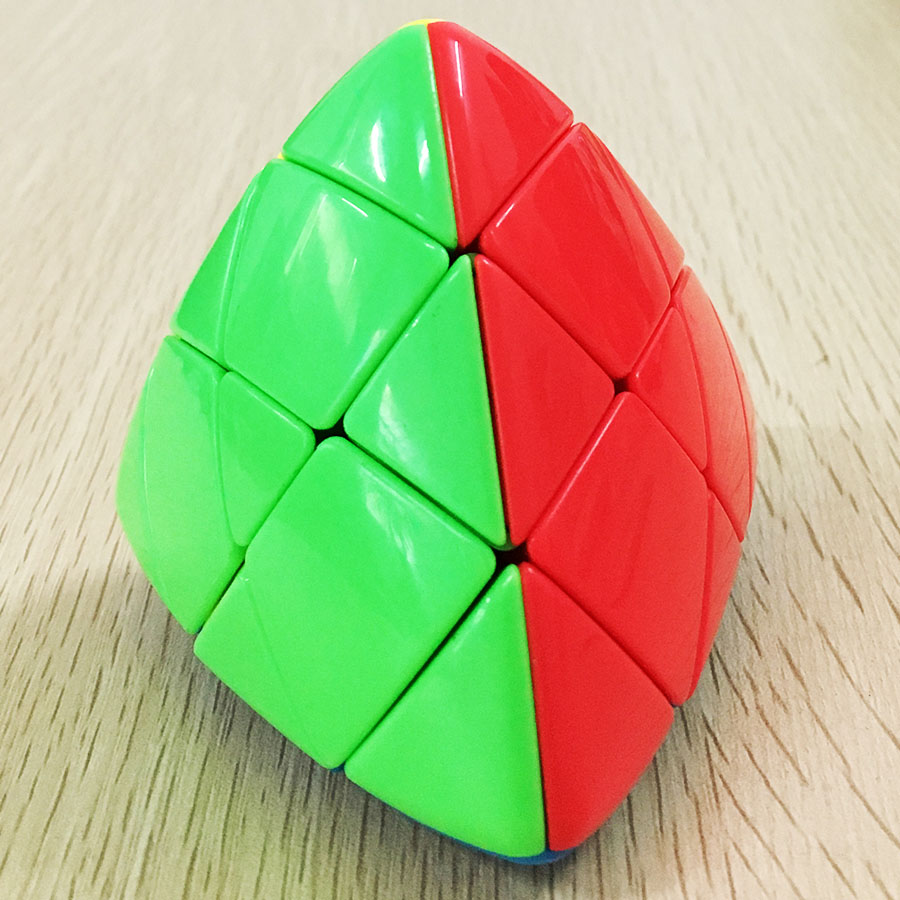 Lefun Shengshou 3x3x3 Mastermorphix Cube Stickerless Magic Cube Puzzle Cubes Gifts Educational Toys For Childdren Pyramorphix