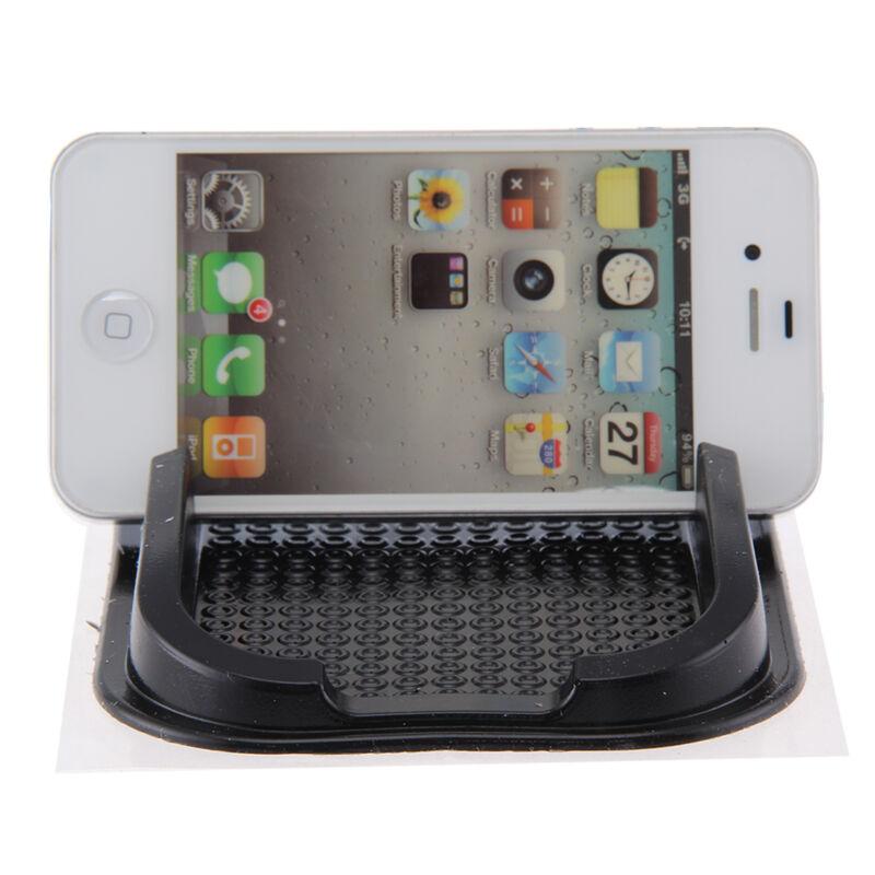 2019 New Black Car Mobile Phone Holder Dashboard Sticky Pad Mat Anti Non Slip Gadget GPS Interior Item Accessories