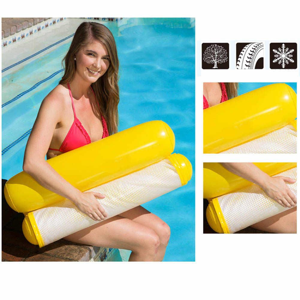 Opvouwbare Opblaasbare Water Hangmat Drijvende Bed Lounge Stoel Drifter Zwembad Outdoor Strand Float Zwemmen Matras Volwassen