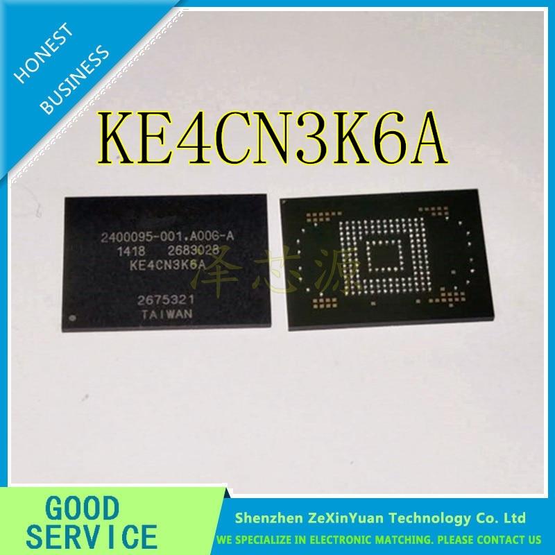 2PCS/LOT KE4CN3K6A BGA-169 EMMC4.5 8GB Memory