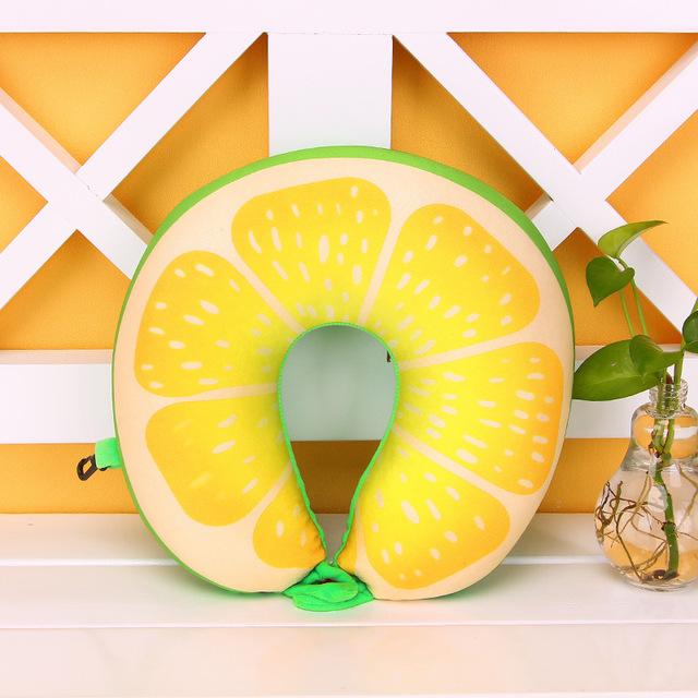 Fruit Printed Neck Pillow