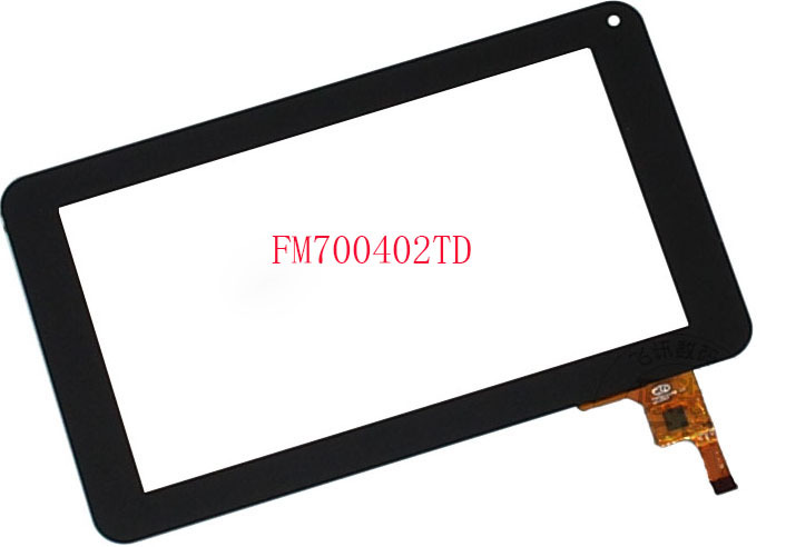 FM700402TD 7 inch tablet PC touch screen digitizer glass lens panel