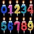 Число Свечи, Торт Свечи-Летию Возрастов Партия Дети День Рождения Декор Подарки