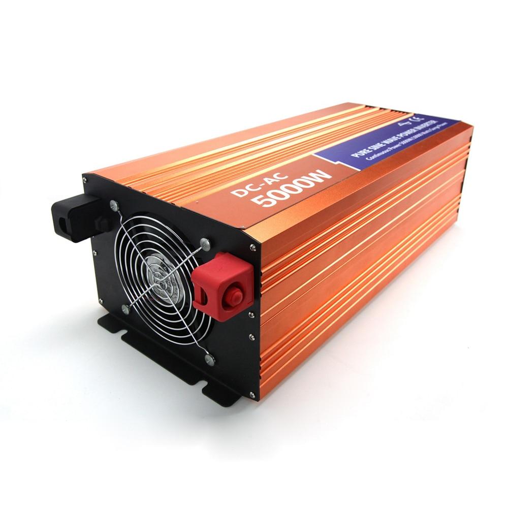 MAYLAR 5000W 48VDC 110V/120V/220V/230VAC 50Hz/60Hz Peak Power 10000W Off-grid Pure Sine Wave Solar Inverter or Wind Inverter maylar 22 60vdc 300w dc to ac solar grid tie power inverter output 90 260vac 50hz 60hz