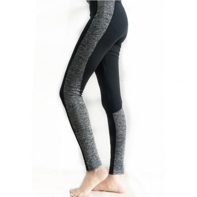 fc8230fa80afc Hot sale mesh splice fitness leggings trousers for women athleisure 2017  jeggings black slim legging pants female elastic 3017